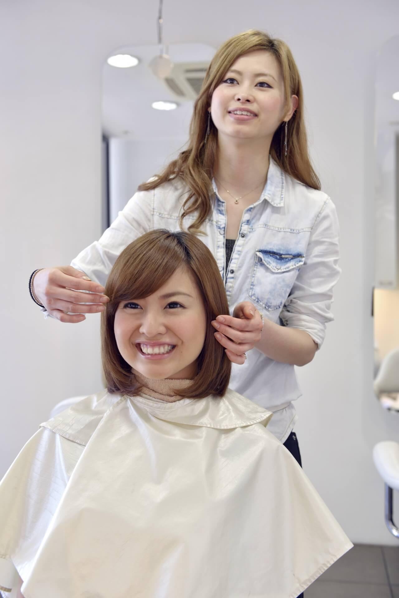 人材開発支援助成金活用例 特定訓練コース:雇用型訓練 美容室
